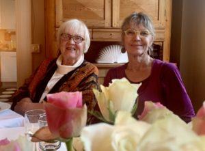 Isa Edholm och Karin Nordberg. Foto: Gunilla Nordlund