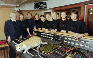 frejaredaktionen inför starten 1996 . Foto: Mikael Lundgren, Bild i Norr
